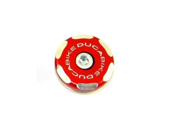 TRS02 - DUCABIKE Ducati Front Wheel Left Cap (bi-color)