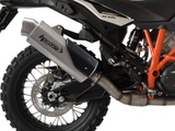 "HP CORSE KTM Adventure / Super Adventure Slip-on Exhaust ""4-Track R Titanium"" (EU homologated)"