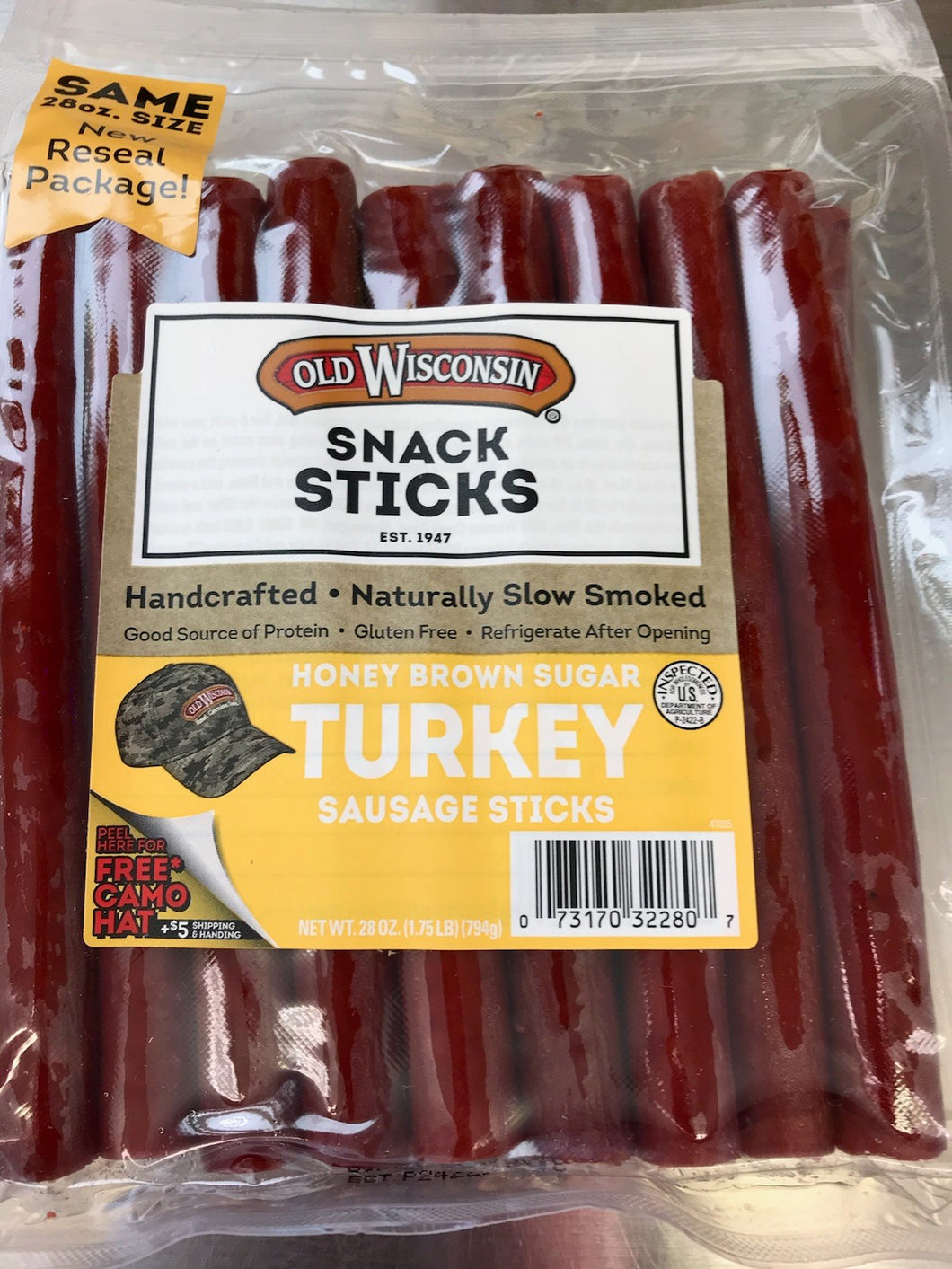 Snack Sticks - Turkey