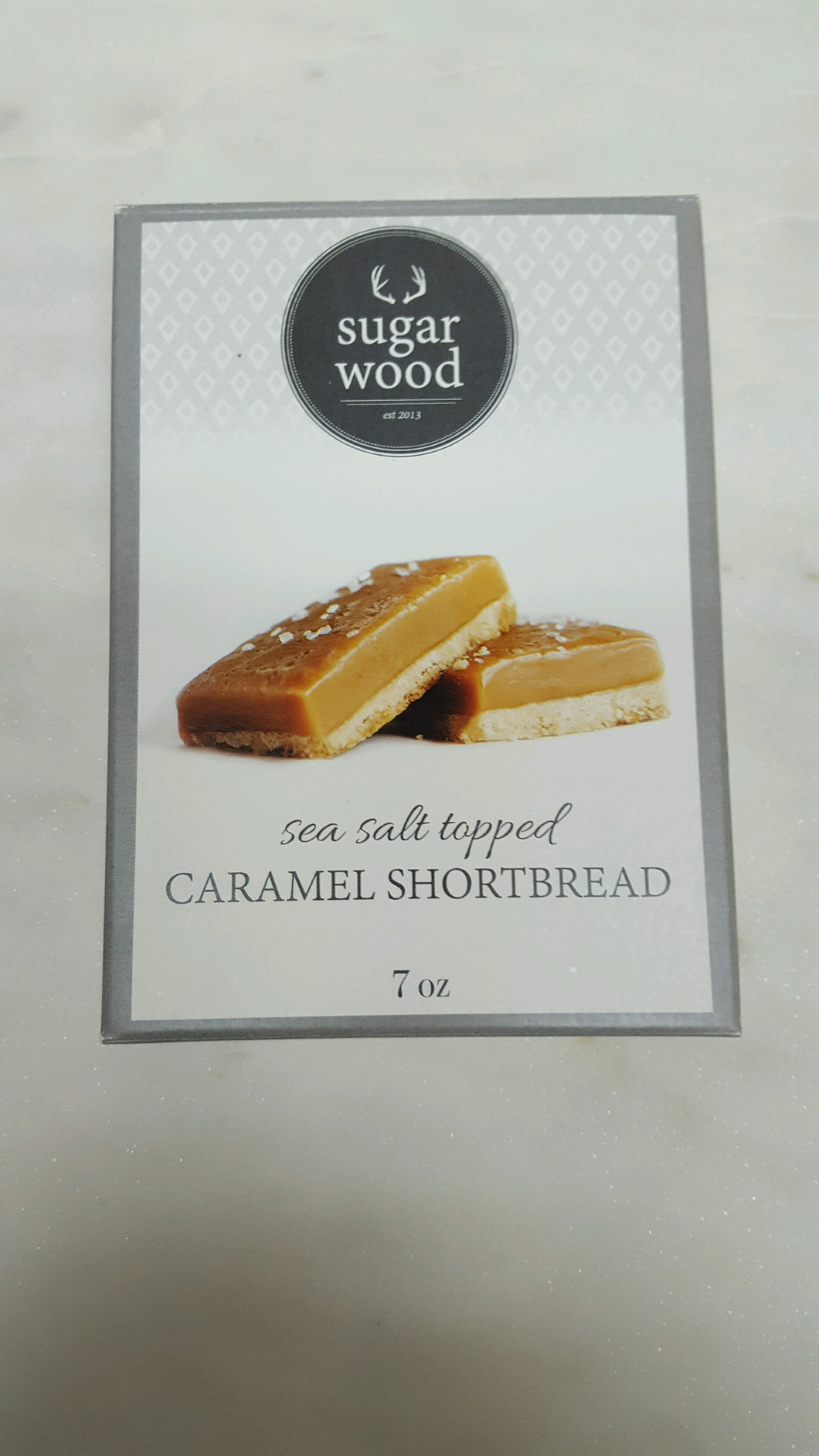 Add Caramel Shortbread to gift box