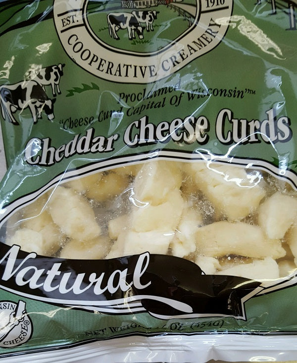 Add Curds-White, Cheddar to gift box