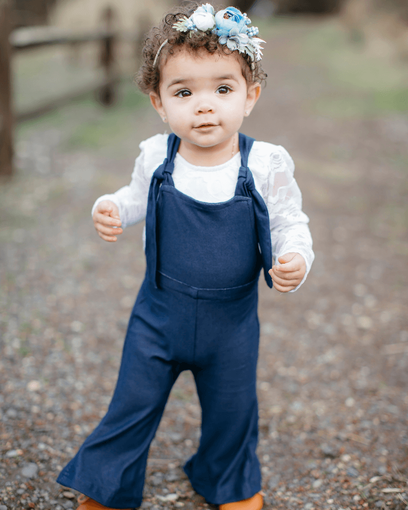 Toddlers Bell Bottom Jumpsuit