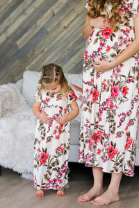 Child's floral echo night dress