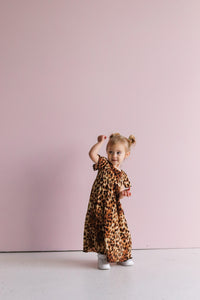Childs Leopard Echo Night Dress