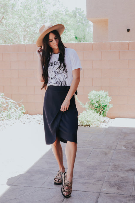 Penny skirt in Navy