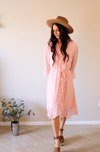 Kristen Dress in Dusty Pink