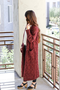 Everly Long Knit Cardigan