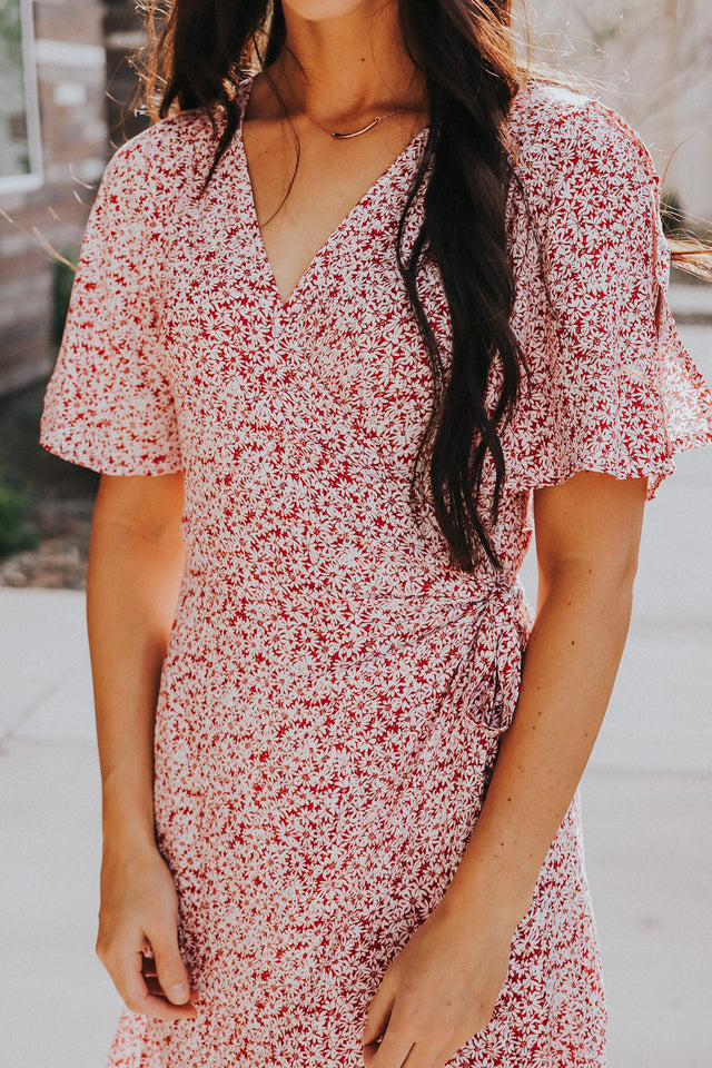 Miss Daisy Wrap Dress