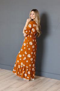 The Melrose Floral Maxi Dress