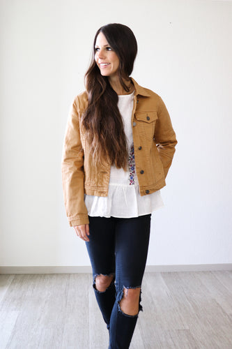 Eliza Jacket - Multiple Colors!