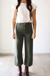 FINAL SALE Sierra Pants in Olive
