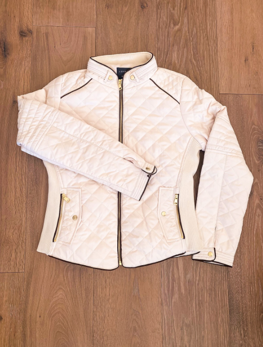Padded Zip-Up Jacket- Multiple Colors!