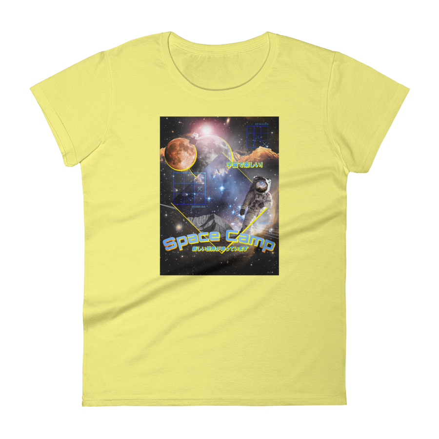 Space Camp | Premium Women's T-Shirt
