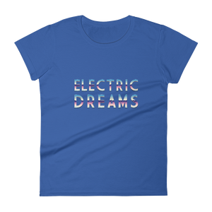 Electric Dreams | Premium Women's T-Shirt