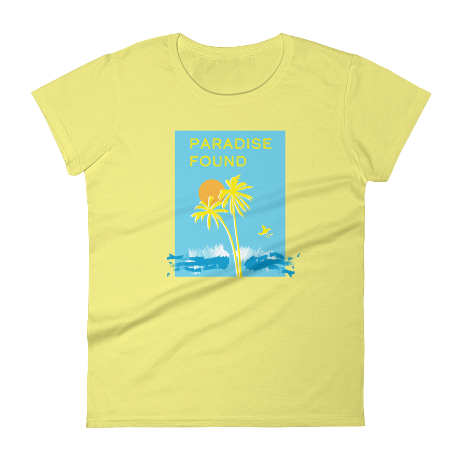 Paradise Found | Premium Women's T-Shirt