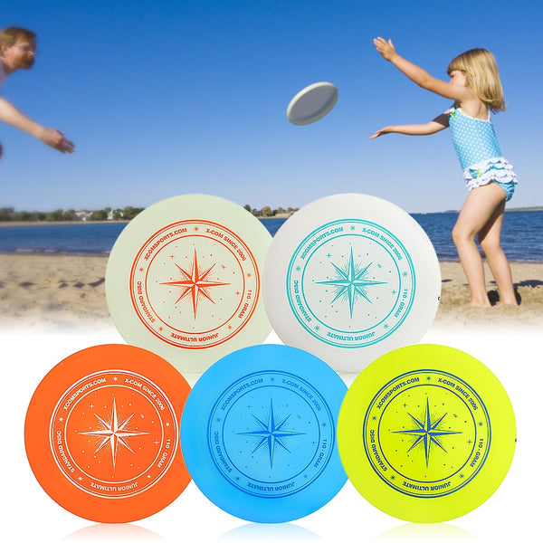 disc golf flying disc 9.3 Inch 110g Plastic Flying Discs Outdoor Play Toy Sport for Juniors  beach disc beach games