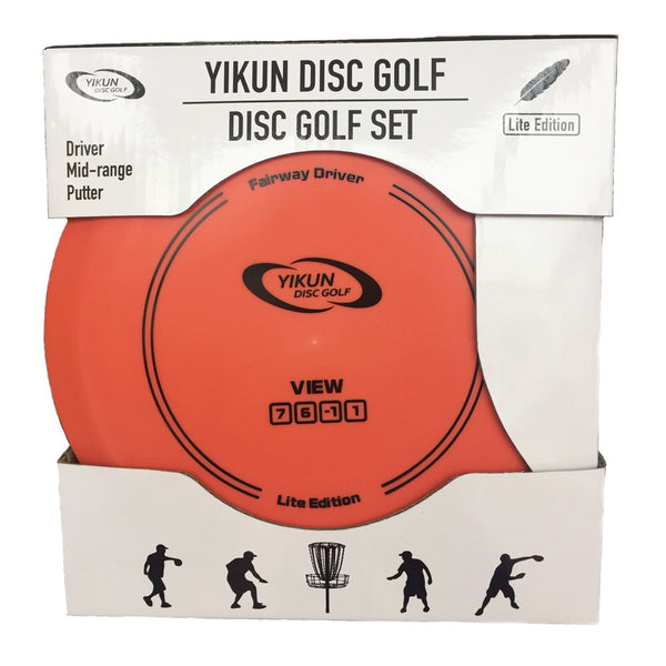 PDGA Approval Lite Eidition Disc Golf Setl Driver Mid-range Putter 3 in 1   Entry Level