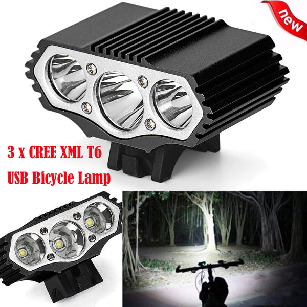 12000 LED Bicycle Lamp