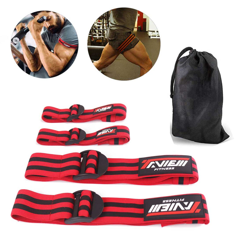 Fitness Occlusion Training Band Set