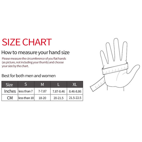 Non-Slip Weight Lifting Gloves