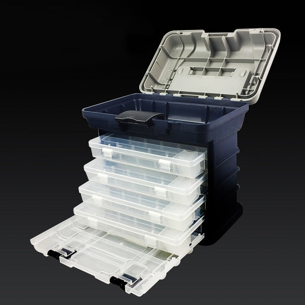 Large 5 Layer Portable Tackle Box