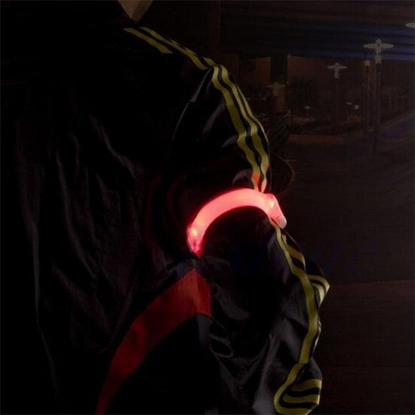 Sports Silicone Safety Warning Light