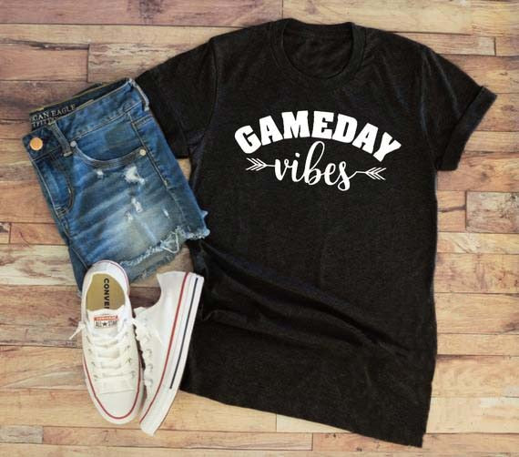 Casual Gameday Vibes T-Shirt