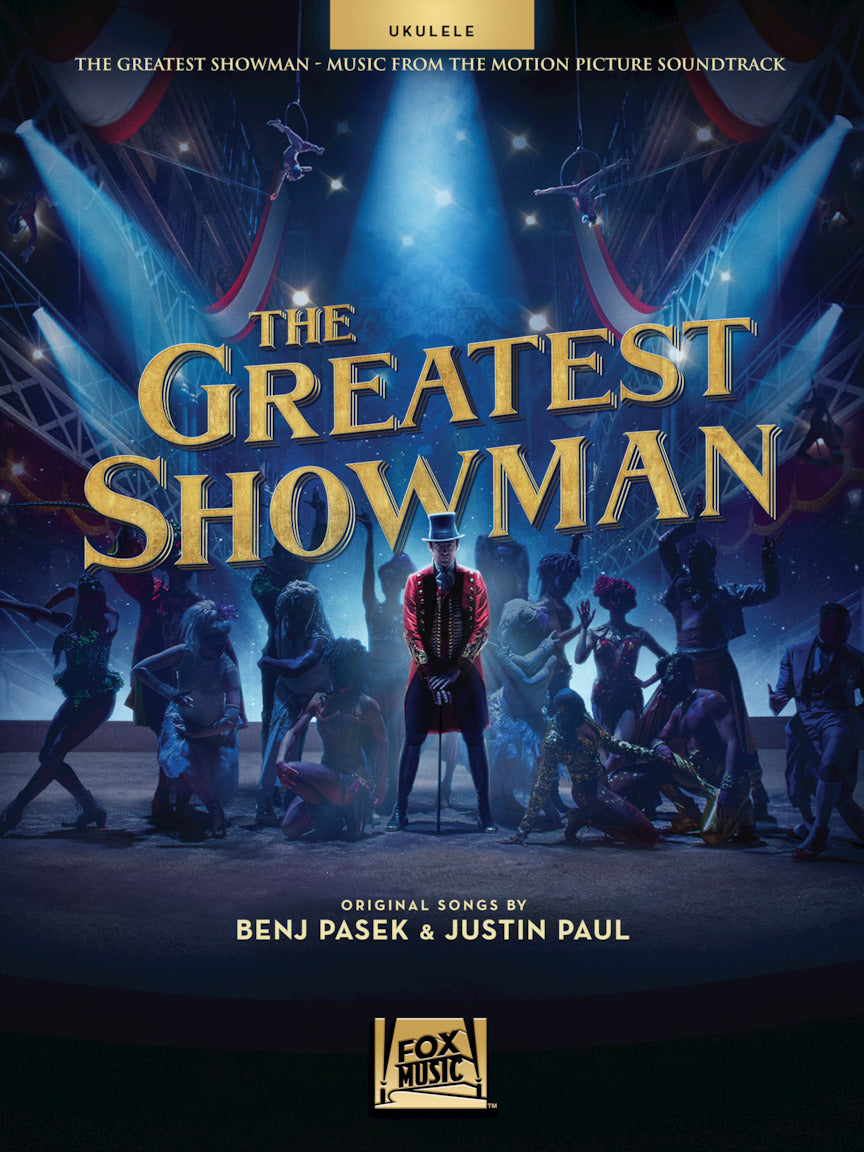 The Greatest Showman for Ukulele - Easy Tablature Song Book Aloha City Ukes
