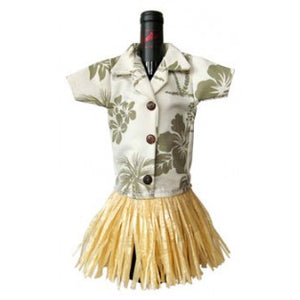 Aloha Shirt Tropical Wine Outfit- Green ACCESSORY Aloha City Ukes
