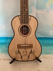 AMAHI UK-770C Concert Ukulele w/Case - Spalted Maple - UK770C freeshipping - Aloha City Ukes