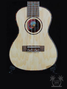 AMAHI UK-880C Concert Ukulele w/Case - Quilted Ash Wood - UK880C freeshipping - Aloha City Ukes