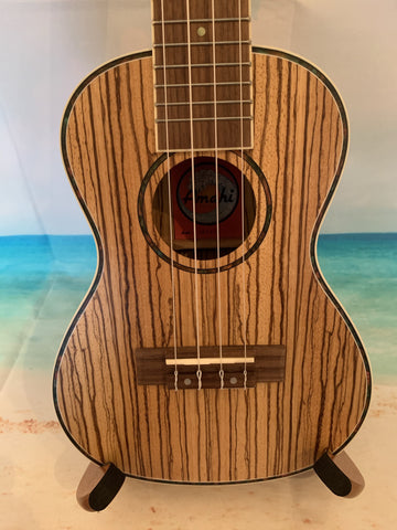 AMAHI UK330C Concert Ukulele Zebrawood - UK330C freeshipping - Aloha City Ukes