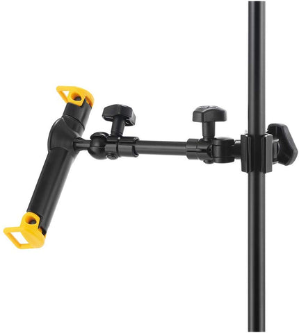 "Hercules Tablet Holder for Microphone Stand - Mic Stand - Fits 7-10"" Tablets DG300B"