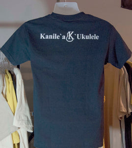 Kanile'a T-Shirt - Blue - Aloha City Ukes