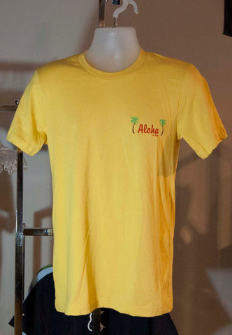 Aloha City Ukes T-Shirt - Aloha Is Free - Super Soft
