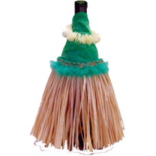 Hula Skirt Wine Outfit ACCESSORY Aloha City Ukes