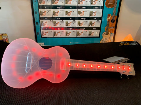 Light Up LED Ukulele - Concert Size - Rechargeable - Tons of Fun