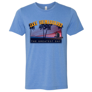 Jake Shimabukuro Greatest Day Tour T-Shirt - Super Soft - Blue