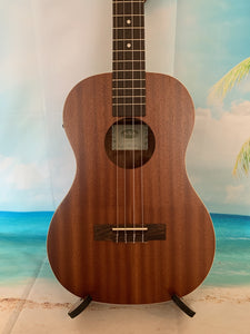 KALA KA-BE Baritone Ukulele w/EQ - Mahogany Satin Finish - KA-BE freeshipping - Aloha City Ukes