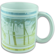 Live Laugh Aloha Coffee Mug ACCESSORY Aloha City Ukes