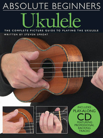 Absolute Beginners Ukulele Instructional DVD Ukulele Accessory Aloha City Ukes