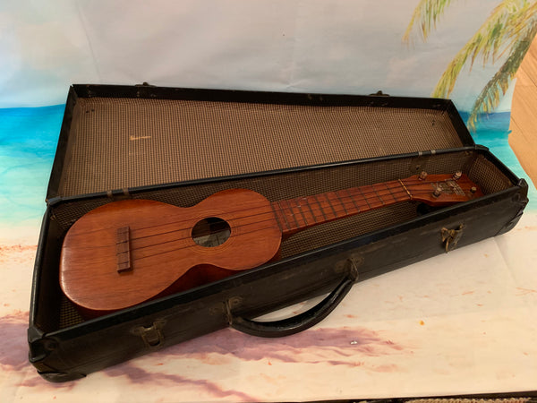 Vintage Kumalae Soprano Ukulele w/Case - Circa 1915 - Made in Hawaii