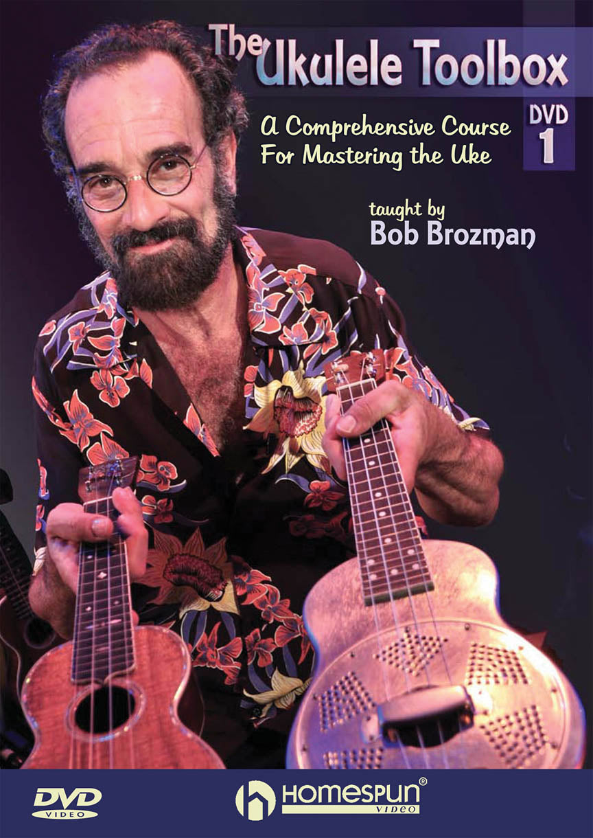 The Ukulele Toolbox DVD #1 freeshipping - Aloha City Ukes