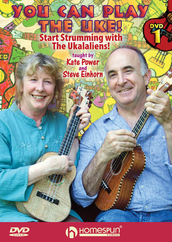 You Can Play The Uke DVD Ukulele Accessory Aloha City Ukes