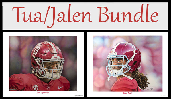 Tua Tagovailoa and Jalen Hurts Bundle
