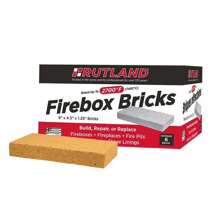 Rutland - Fire Brick - 6 Pack