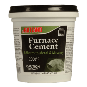 Rutland - Black Furnace Cement - 16 fl oz
