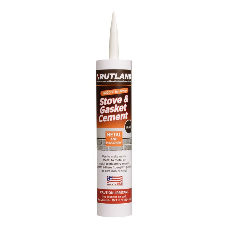 Rutland - Stove Gasket Cement 10.3 Cartridge