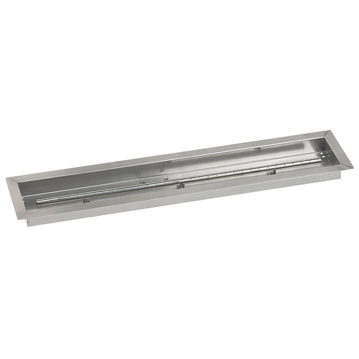 "72"" Linear Burner Pan SS-LCB-72 American Fire Glass"