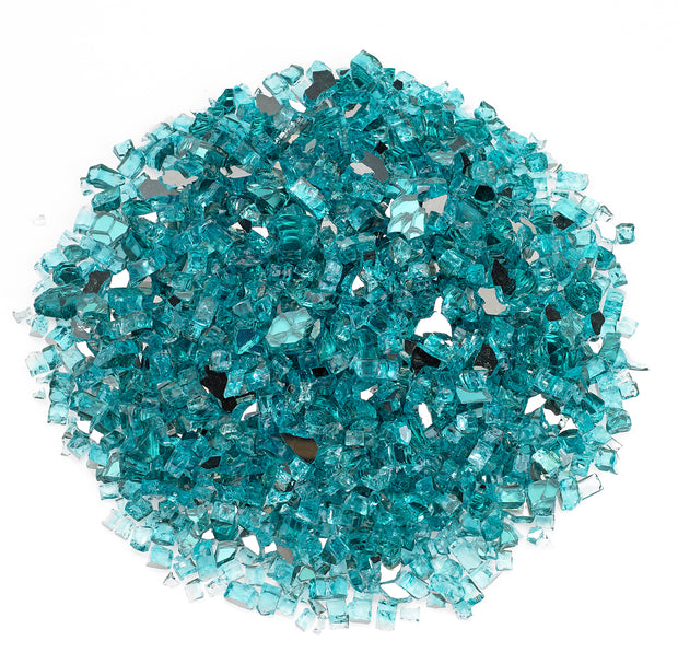 "American Fire Glass - Azuria 1/2"" Glass - AFF-AZBL12-10"